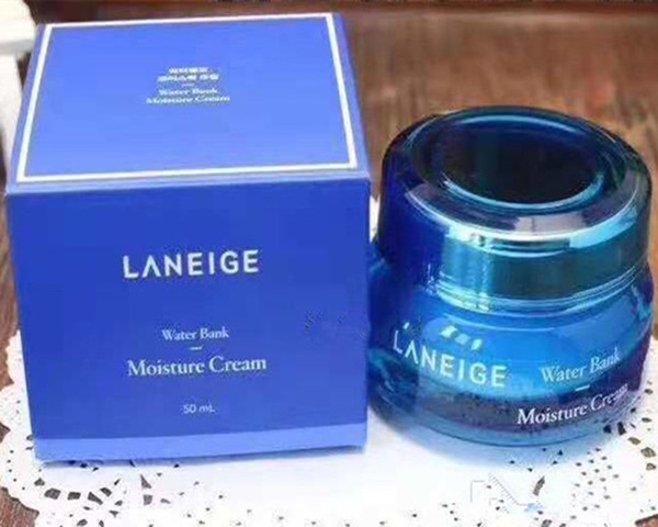 Дропшиппинг отличное качество Laneige увлажняющий Банк воды гель крем минеральная вода день ночной крем 50 мл в наличии