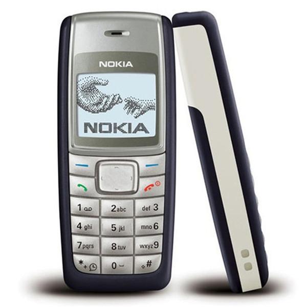 Восстановленное в Исходном NOKIA 1112 Разблокирована Бар 2 Г GSM Мобильный Телефон Многоязычный 4 Цветов Полный Набор Бесплатно Сообщение 1 шт.