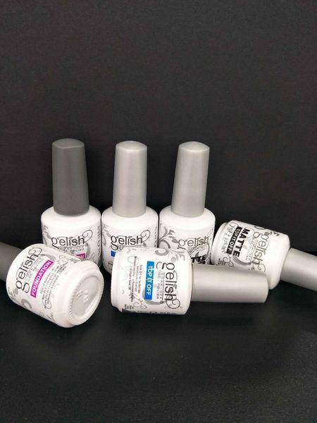 Soak off nail gel poli h for nail art gel lacquer led uv geli h ba e coat foundation it off matte it off 10pc