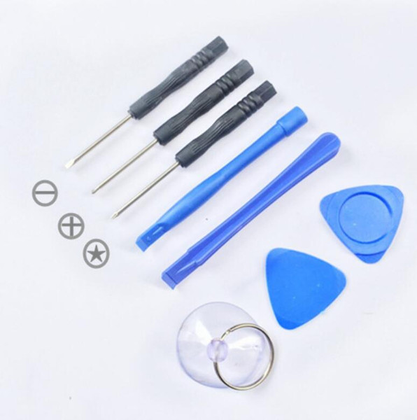8 in 1 repair pry kit opening tool  torx cell phone repairing tool  for apple iphone mobile phone lx2323