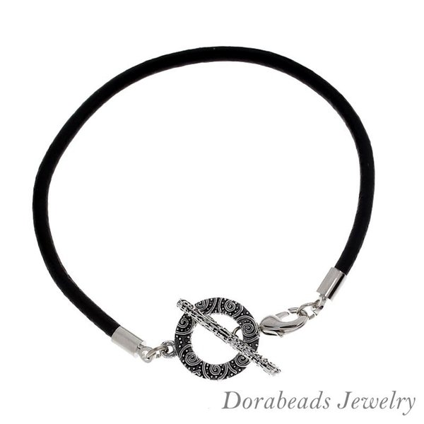 5_pcs_toggle_clasp_leather_bracelets_european_bracelets_20cm_(b12307)