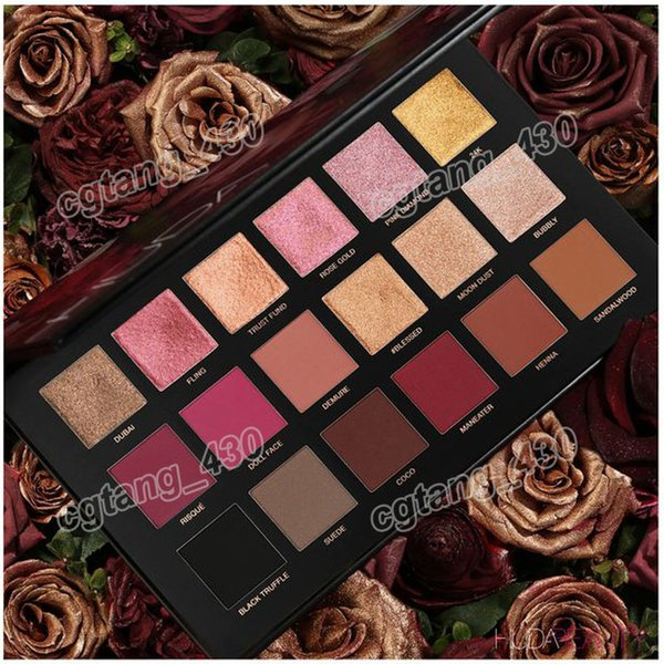 Ro e gold rema tered eye hadow 18 color palette eye hadow matte himmer pallet hipping