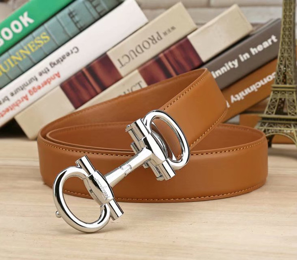 Men's belts leather business belts leisure belt young men's belts