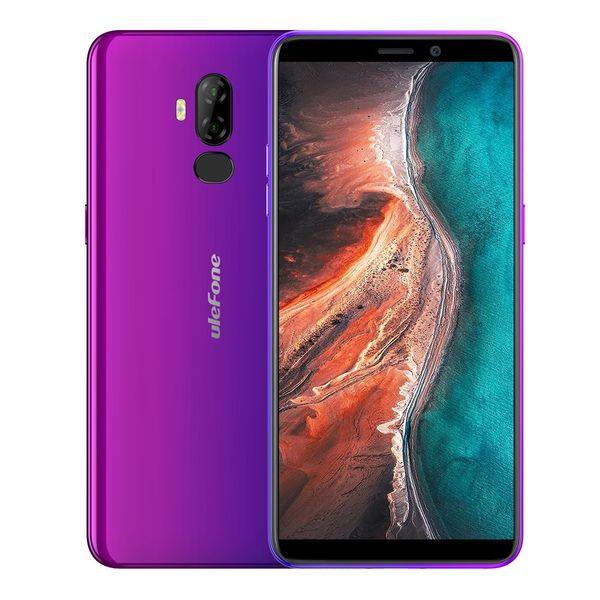 Ulefone p6000 plu  android 9 0 6350mah  martphone 6 0 inch 18 9 hd  mt6739 ouad core 3gb 32gb face id mobile phone
