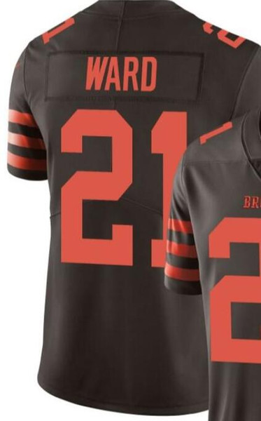 Men clevand 13 6 5 21 24 80 95 jer ey all team player 2019 new drift embroidery and 100 titched limited male american football jer ey 07