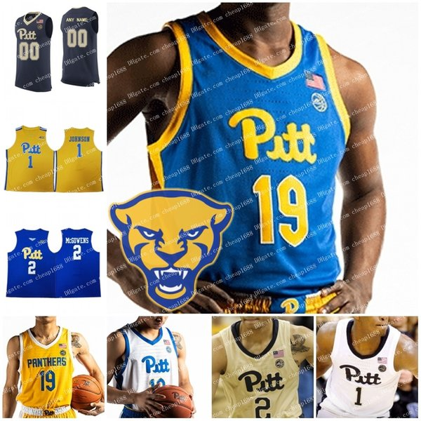 2019 new pitt burgh panther pitt royal yellow navy white 1 xavier john on 2 trey mcgowen 3 malik elli on cu tom any name number jer ey