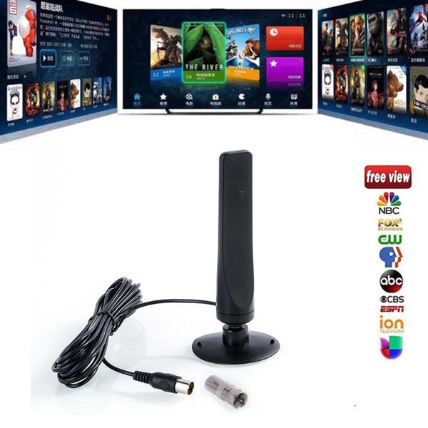 Hot sale 12dBi Aerial TV Antenna For DVB-T TV HDTV Digital Freeview HDTV Antenna Free shipping (sunshinesea) Atlanta Purchase b
