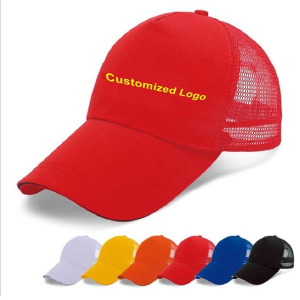 Печать шапка на заказ логотип сетки путешествия рекламных шапок Хлопок уток язык фото