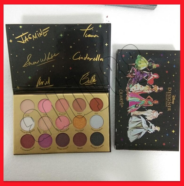 2019 eye makeup 15 color eye hadow palette colorpop de igner collection glitte matte himmer eye hadow palette hipping