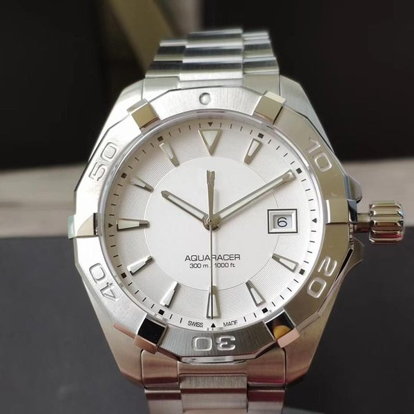 Сапфировое стекло оригинальный швейцарский механизм Калибр диаметр 41 мм 316L рафинированная сталь дизайнерские часы механические часы orologio di lusso фото