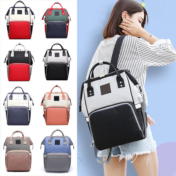 1pcs Multifunction Handbag Travel Backpack Women's Fashion Bag Nursing Bags Large Capacity For Baby Care Mummy Backpack