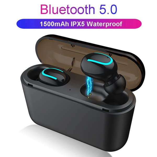Q32 tws 5.0 Bluetooth наушники Bluetooth 5.0 + EDR гарнитура IPX5 водонепроницаемый мини беспроводны фото