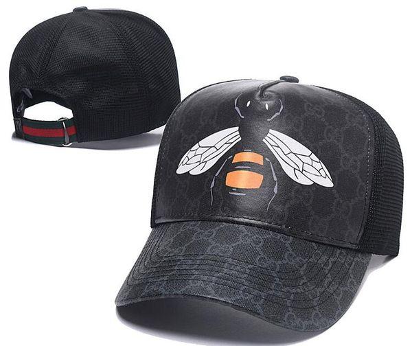 Новые дизайнерские шляпы Snapback Бейсболки Досуг Hat Bee Snapbacks Шляпы на открытом воздух фото
