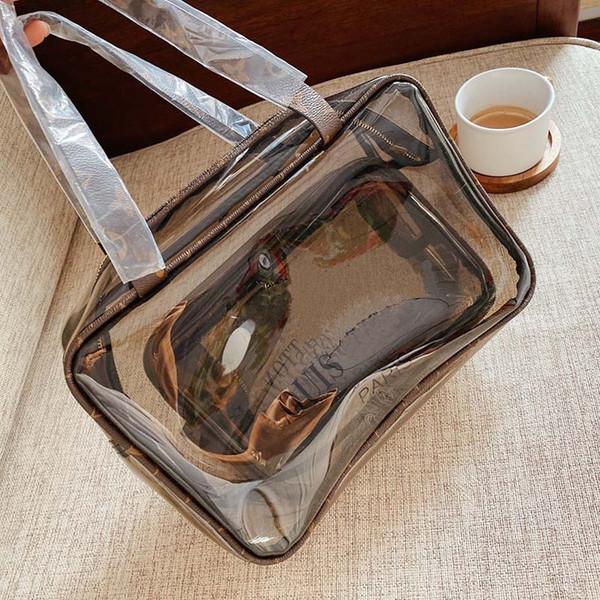 designer handbags l flower jelly material toiletry bag fashion designer bags purse ladies designer handbag purse (532379302) photo