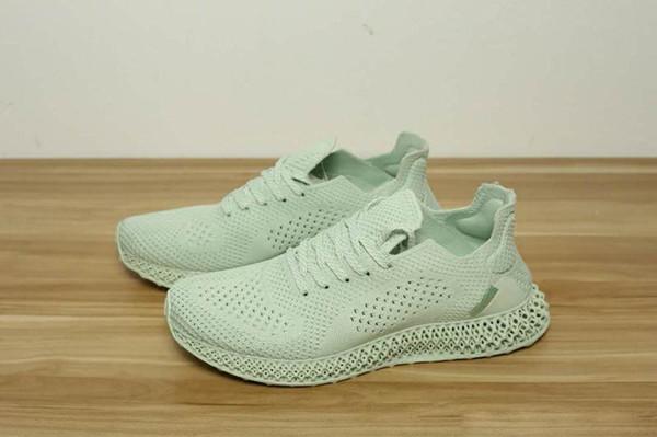 (С коробкой)мужчины Futurecraft 4D Arsham будущее кроссовки для продажи Daniel Arsham Aero Green Sneaker