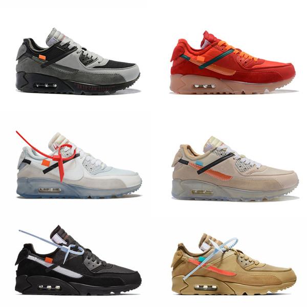 Дизайнеры 90 с кроссовки Кроссовки мужские Desert Ore Volt проветривания модный бренд класса люкс классический 90-х годов обучение спортивные кроссовки