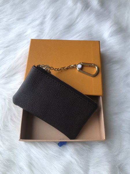 french style designer wallet men's and women's leather leather purse key wallet mini wallet with box (487727067) photo