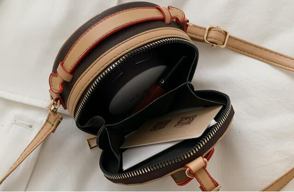 luxury designer purses handbags women mini shoulder bags small round crossbody bag girl joker bags (539168664) photo