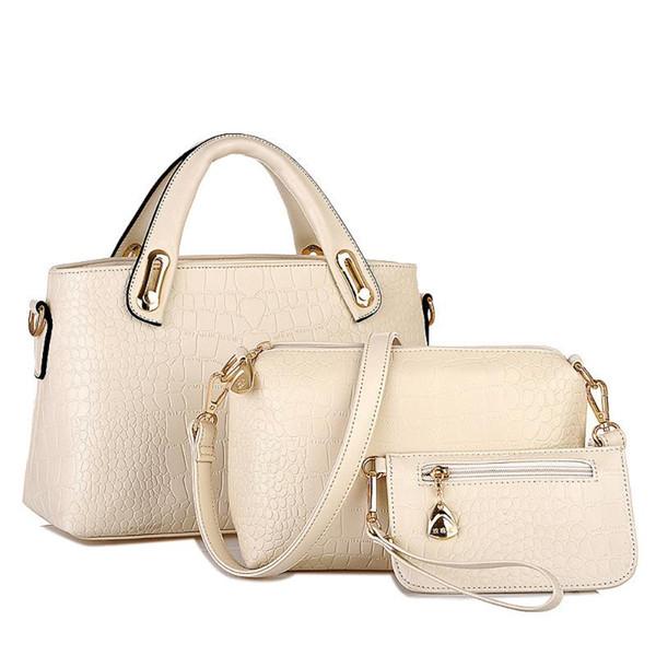 ladies hand bags woman bag female handbag tote bag set woman messenger shoulder lady purse day clutch hand set#35 (517082335) photo