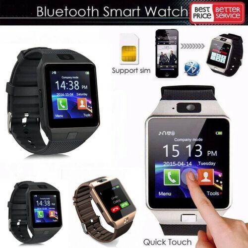 2019 bluetooth  mart watch men intelligent digital  port  martwatch dz09 pedometer for android  martphone