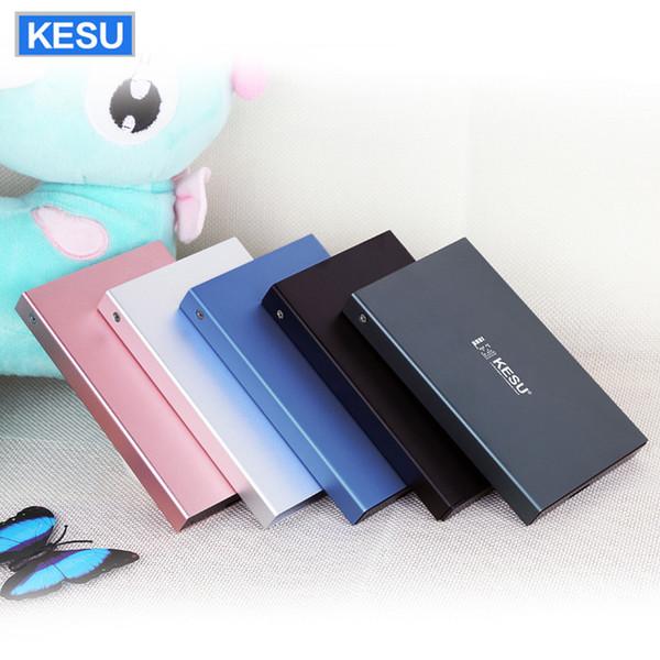 KESU Внешний жесткий диск HDD USB2.0 60 г 160 г 320 г 500 г 1 ТБ 2 ТБ HDD Память для ПК Mac Tablet Xbox PS4 TV b