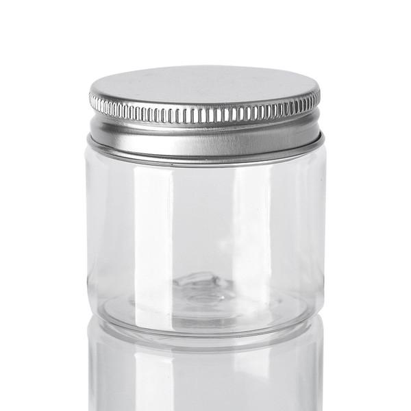 30 40 50 60 80мл пластиковые баночки Прозрачные Канистры ПЭТ Пластиковые ящики для хра фото