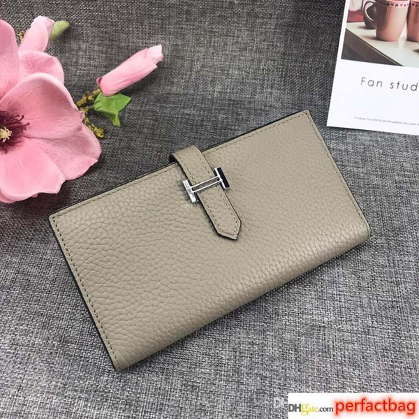 designer wallet h genuine leather long style purses bag women designer bags real leather designer wallets purses bags (512156907) photo