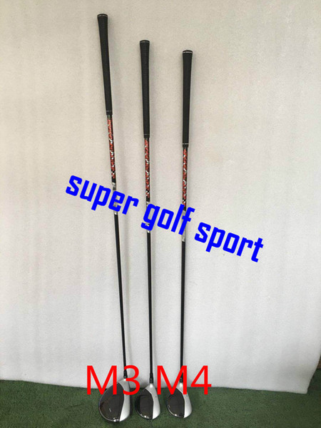 Sell 3pc 2019 golf club m4 driver 9 5 10 5degree and m4 fairway wood 3 5 with graphite haft and headcover