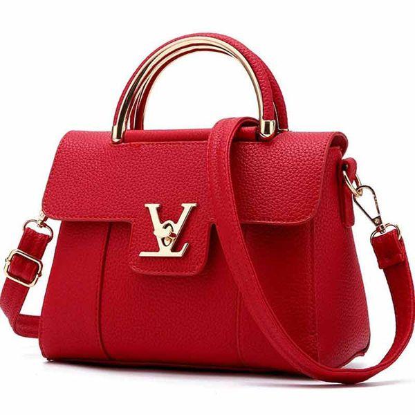 designer luxury handbag purse litchi pattern women fashion totes designer bag ladies purse designer purses bag (510944069) photo