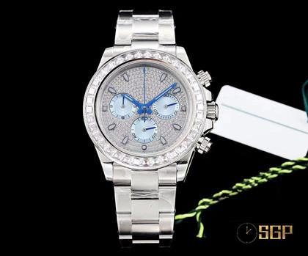 New upgraded 40mm luxury watches men's watch men's watch luxury mens watches designer watches reloj militar фото
