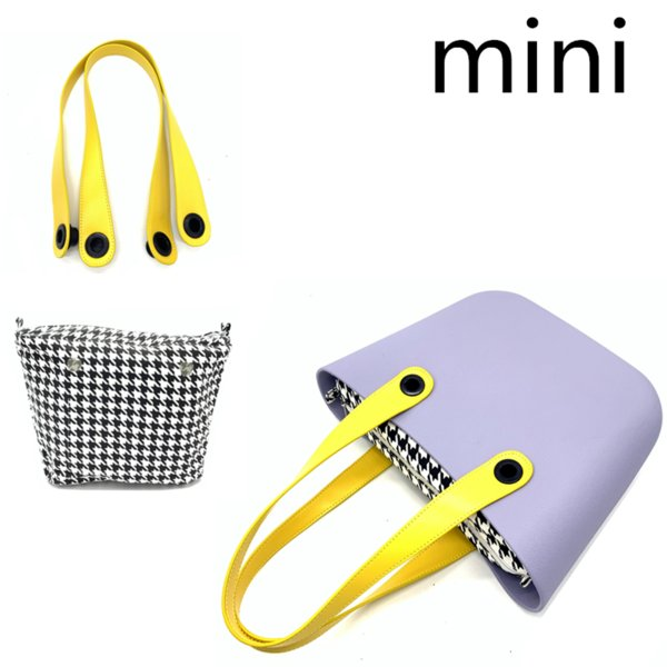 mini inner canvas bag for obag mini size tote purse (530177494) photo