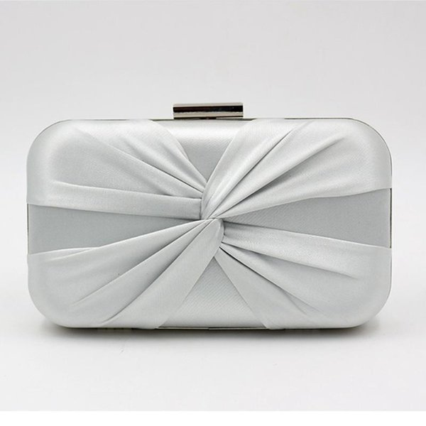 women handmade knot clutch purse cross-body bag shoulder bag with chain fashion evening purse handbag tote new (535170550) photo