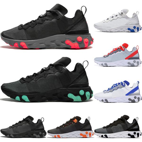 Nike React Element 55 shoes Мужская React Element 55 Undercover X Спортивные кроссовки для женщин кроссовк фото