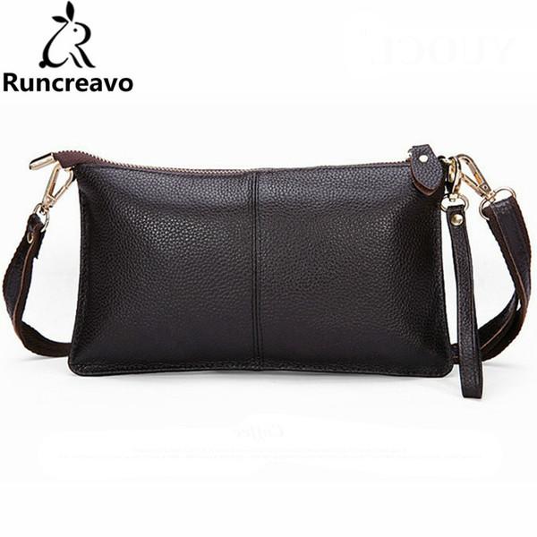 2018 women wallets genuine leather crossbody bag female zipper clutch coin purse ladies wristlets portable handbag for parties (510581008) photo