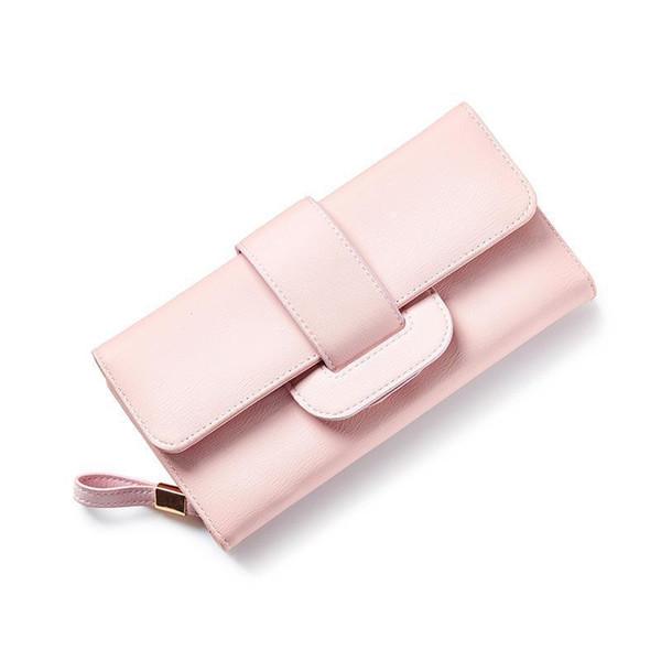 women long wallet large capacity women purse brand female wallet clutch multifunction lady purse bag (458892260) photo