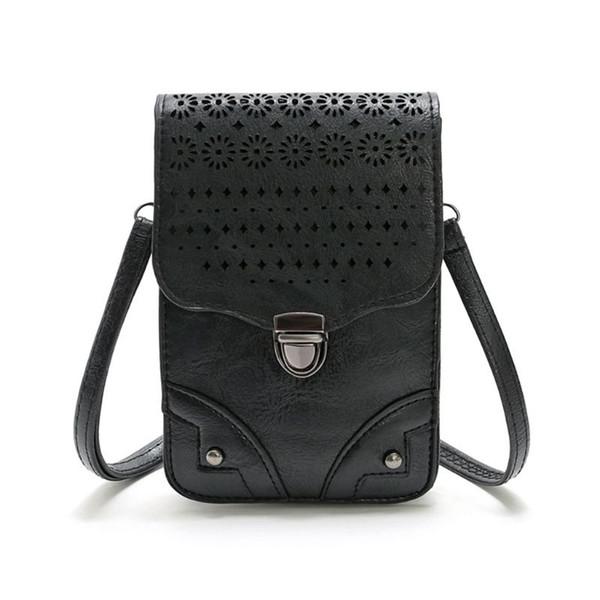 women crossbody small cell phone shoulder bag purse wallet organizer (519159358) photo