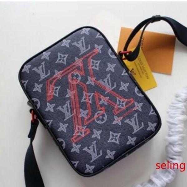 m43677 men black canva messenger crossbody purse bag hobo handbags handles boston cross body messenger shoulder bags (526196523) photo