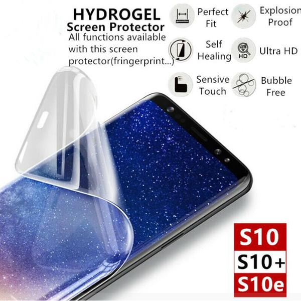Протектор экрана 20D гидрогелевые пленки Полное покрытие для Samsung S10 примечание 10 п фото