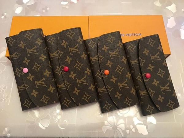 original box luxury wallet leather multicolor coin purse long purse card holder women classic zipper pocket (528309733) photo