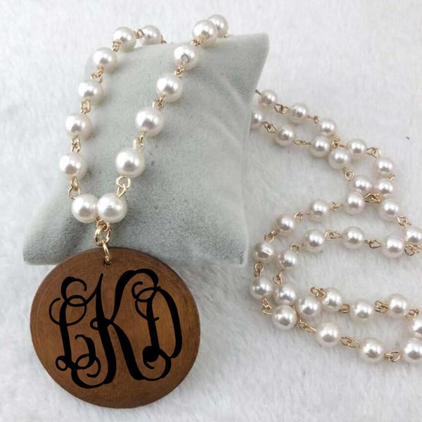 CS-DB Jewelry Silver Pearl Luxury Colares Chain Charm Pendants Necklaces