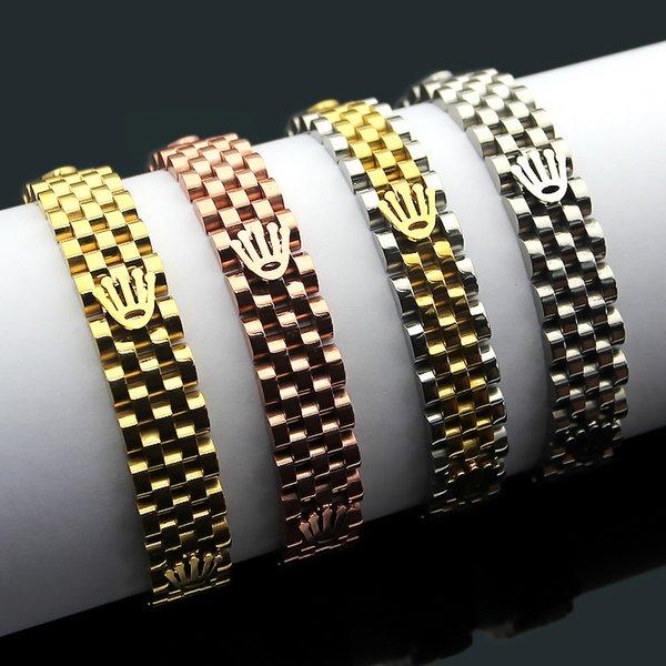 316 титана стали Любовь браслет мужская и женская мода браслет 18K розовое золото па