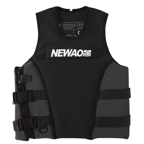 2019 neoprene safety life vest for water ski wakeboard swimming life jackets adults jacket water sports puddle jumper