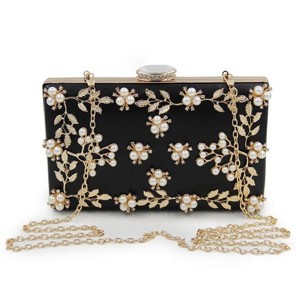 women clutches pearls evening bag clutch purse bags (530004526) photo