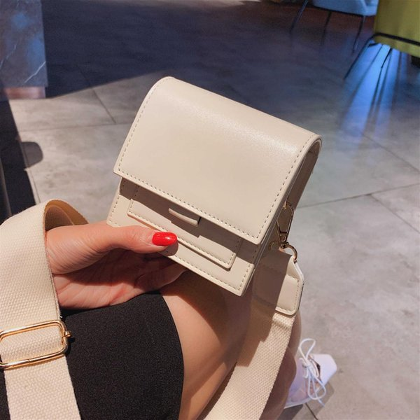 solid mini color leather crossbody bags for women 2019 girl shoulder messenger bag female travel cell phone purses and handbags (499558866) photo