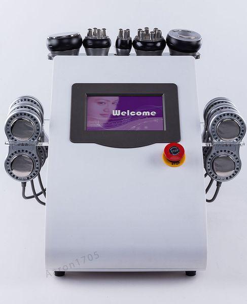 Портативная форма тела микротоковая радиочастотная машина вакуумная кавитация машина для похудения уход за кожей красоты машина фото