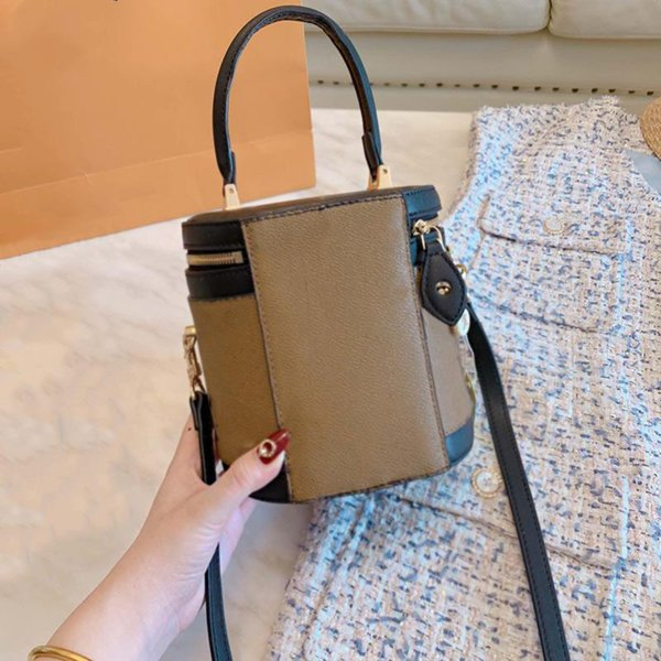 designer handbag purses new brand l0g0 women designer handbags leather fashion cosmetic case bucket bag (530522193) photo