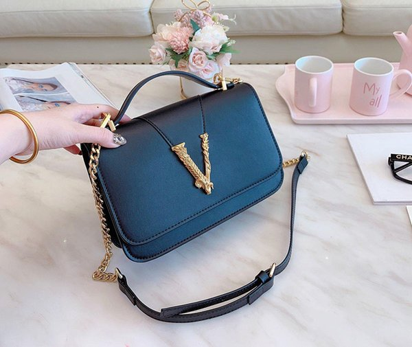 designer-varsce luxury purses bags medusa bag varse purses bag shoulder crossbody chain strap purses designer bag (499114328) photo
