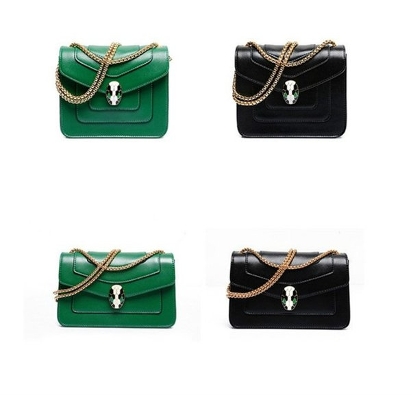 designer luxury handbag purses wholesale of fashion chain single shoulder bag slant snake head bag factory price lucury quality handbag (496707994) photo