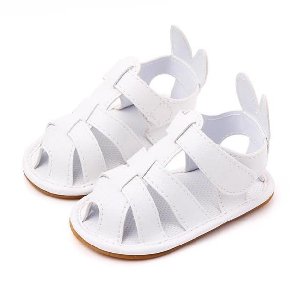0-12Months Summer Baby Girls Breathable Anti-Slip Summer Boys Sandals Baby Flat Children Beach Shoes Kids Sports Soft Non-slip
