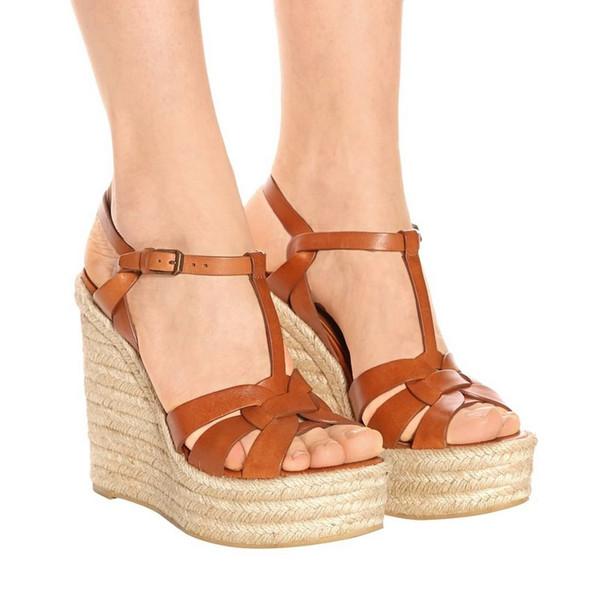 женские дизайнерские босоножки с логотипом и коробкой модные женские туфли на высоком каблуке T босоножки из плотной трикотажной ткани